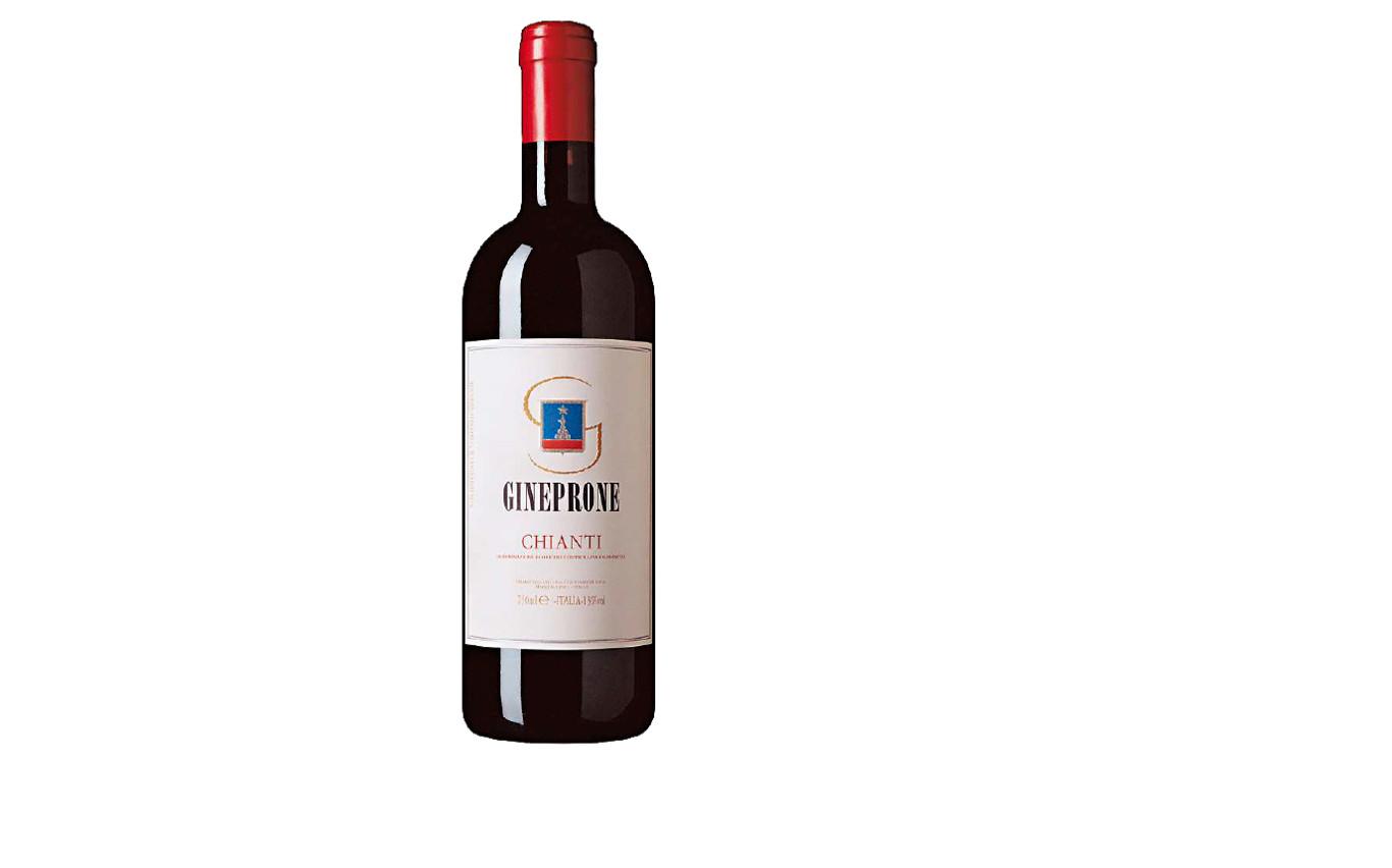 Chianti, Vino tinto italiano de cuerpo robusto y alto contenido alcohólico. Con base de uvas Sangiovese toma un fuerte sabor afrutado.