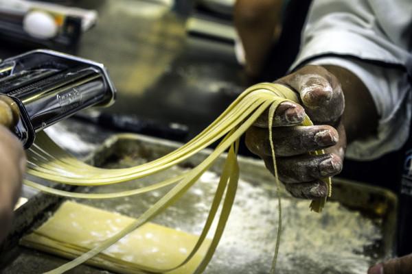 Pasta casera, Restaurante pizzeria Otro Mondo en Villaviciosa de Odón.