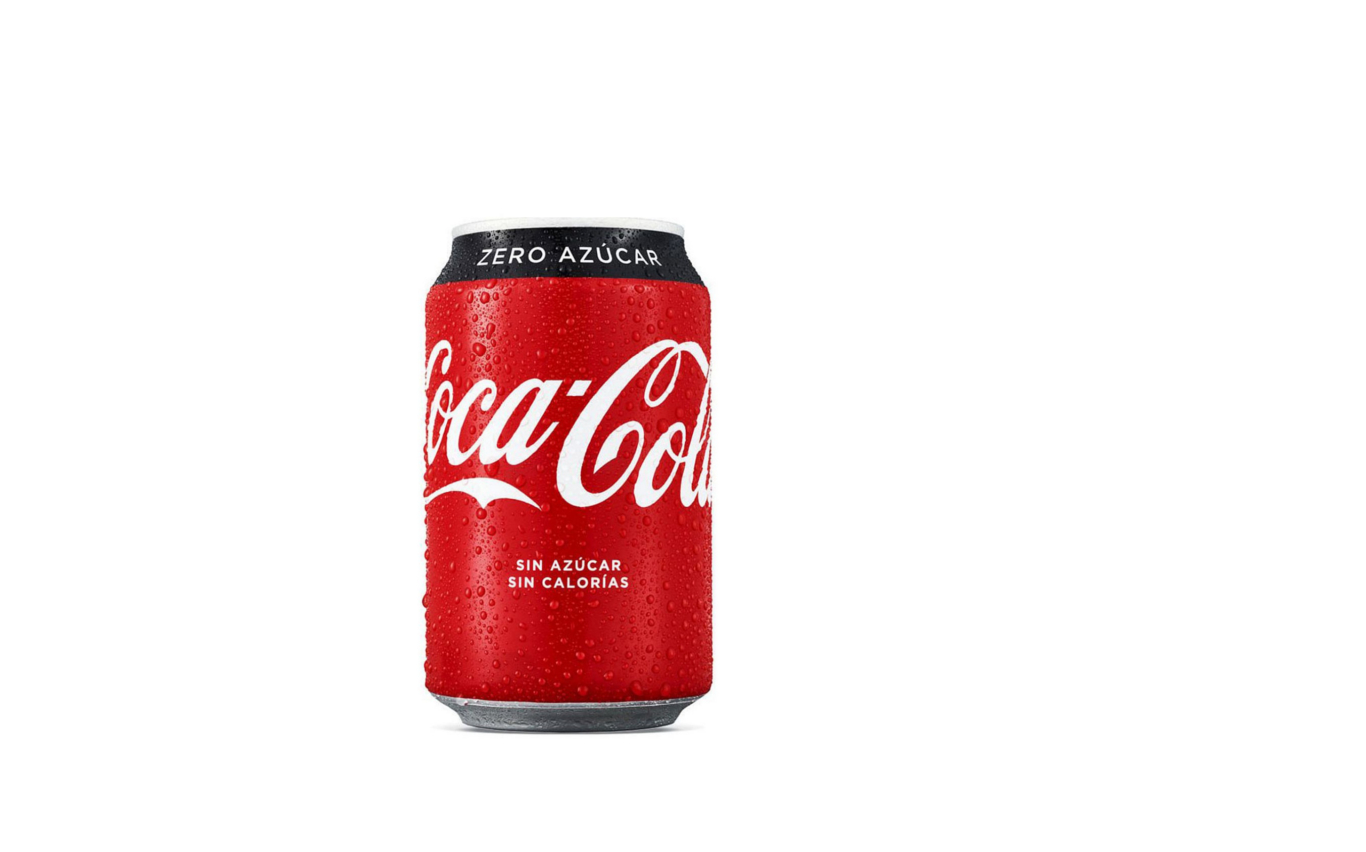 Coca Cola Zero, Bebidas. Restaurante pizzeria Otro Mondo en Villaviciosa de Odón.
